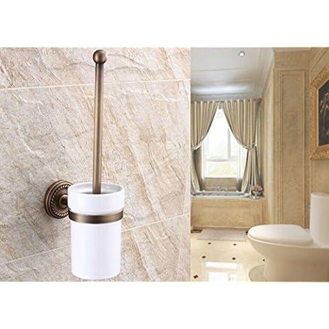 MTJQCL® Rame antico d'epoca in ceramica scopino Cup Suite giardino accessori da bagno di stile classico europeo