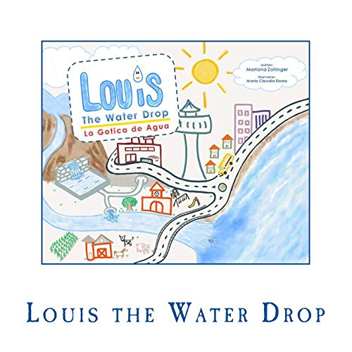 Louis the Water Drop por Mariana Zollinger