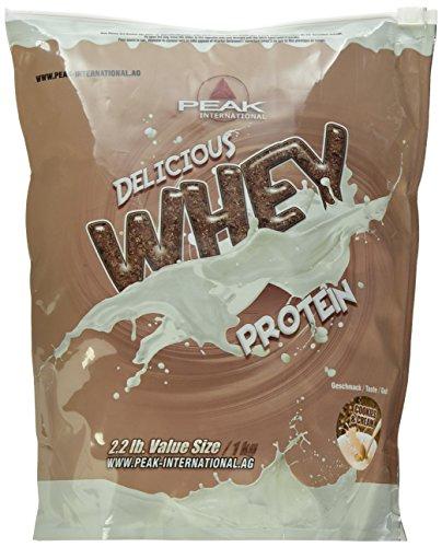 PEAK Delicious Whey Protein Cookies & Cream 1000g