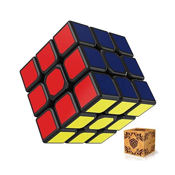 51bk4wDbhUL. SS600  - SPLAKS Zauberwürfel 3x3x3 magische Würfel original Speed Cube mit einstellbar Dreheigenschaften für Cornercutting Speed-Cubing
