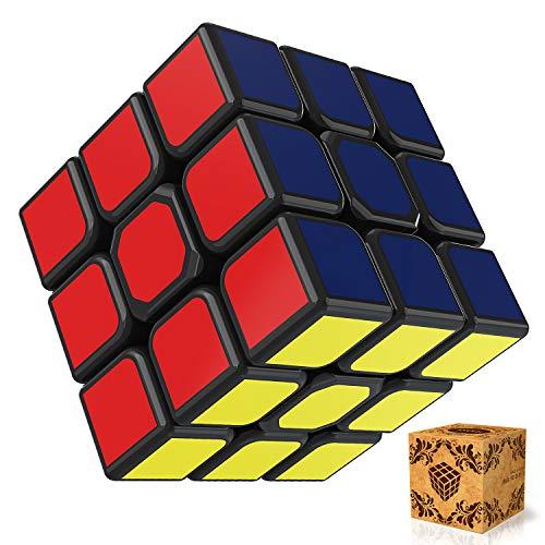 51bk4wDbhUL - SPLAKS Zauberwürfel 3x3x3 magische Würfel original Speed Cube mit einstellbar Dreheigenschaften für Cornercutting Speed-Cubing