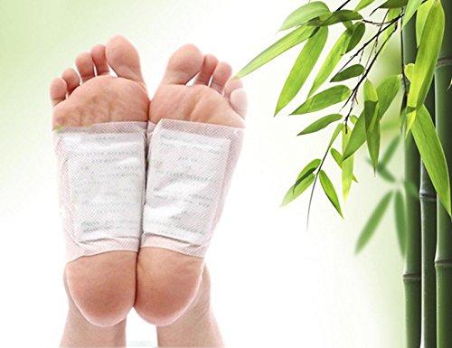 Groten Fußpflaster Gewicht-Verlust-Toxin-Entfernung 100 Stück Detox Foot Pads Patches Herbal Reinigung - Toxin Entfernung