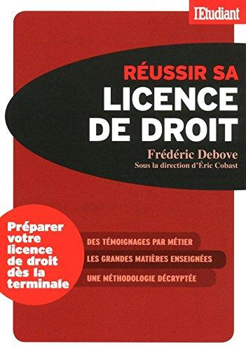 Réussir sa licence de droit