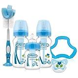 Dr. Brown's OPTIONS Anti-Kolik Babyflaschen - Geschenkset (Blau)