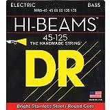 Best DR Strings Cuerdas Ukulele - DR MR5-45 Hi-Beam Bass Guitar Strings (45-125) Review