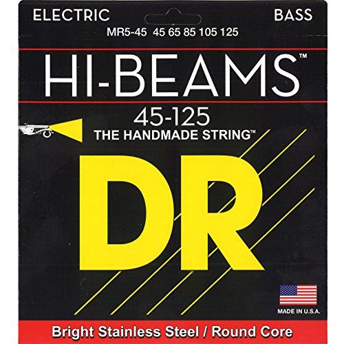 DR String MR5-45 Hi-Beam Set di corde per basso