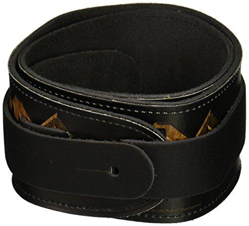 Perri's Leathers 6023 - Tracolla per chitarra, motivo: AC/DC, 6,3 cm (2,5'')