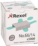 Rexel - Pack de 5000 agrafes No 66/14 - Capacité 100 feuilles
