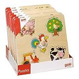 Steckpuzzle goki Basix Preis per Stück - Ausführung je nach Verfügbarkeit GOKI 57545