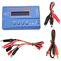 Balancing Battery Charger NIMH Nicd Battery Plastic Model Balance Charger Power Adapter Blue for Batteries Lipo/Li-ion/LiFe / NiMh/NiCd / Pb/Lead Acid - Compare prices on radiocontrollers.eu