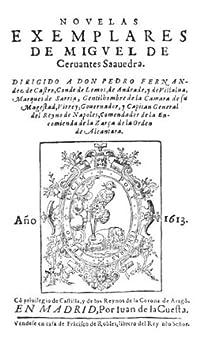 Novelas Ejemplares de [Saavedra, Miguel Cervantes]