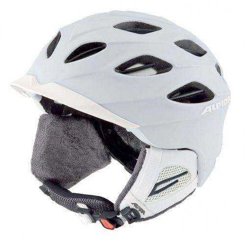 ALPINA SUPER CYBRIC Helm 2011 Farbe: weiß matt - Groesse: 54-57 cm