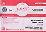 Scanner CS Professional Programme Module-I (2013 Syllabus) Paper-1 Advanced Company Law and Practice