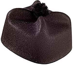 WIDMANN 1732?Sombrero Parroco de fieltro, color negro, talla única