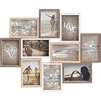 Gallery Solutions Collage Mixed Colours 10 Fotos à 10x15 cm, Außenformat: 56x45x2,5 cm