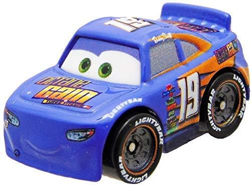 Mattel Disney Cars FBG74 Cars Serie 3 - Mini Racer, Racers aus Metall, Auto Fahrzeuge Modelle zur Auswahl (FPR92 - Bobby Swift)