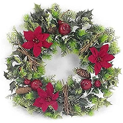 Artificial Christmas Wreath for indoors and outdoors