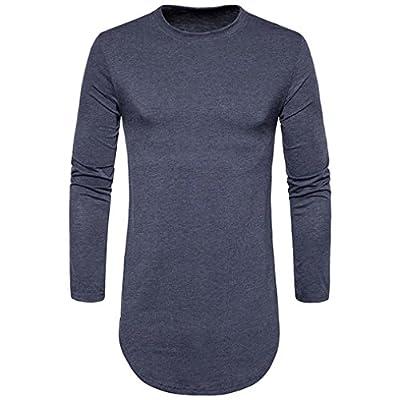 Herren Herbst Winter T-Shirt Bluse Einfachheit Modisch Solide Farbe moderne hemden wärmen Lange Ärmel outdoor hemd Shirt Perfekt günstige hemden Tops