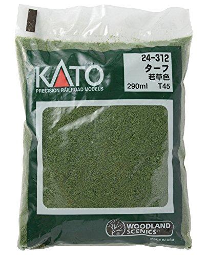 Kato 24-312 Turf-Green Grass by Kato USA, Inc. (Grass Turf-green)