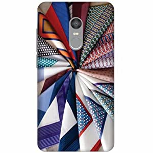 Redmi Note4 Hard Plastic Back Cover - Multicolor Designer Cases Cover by Printland