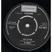 """FULL OF FIRE 7 INCH (7"""" VINYL 45) UK LONDON 1975"""