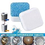 TianranRT❄Detergente per lavatrice Disincrostante Depuratore per la pulizia profonda Deodorante Durevole(Multicolore)
