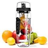 OMorc Fruit Infuser Water Bottle 900ml/32oz, BPA-Free, Shatter-Resistant and Impact-Res... Best Review Guide