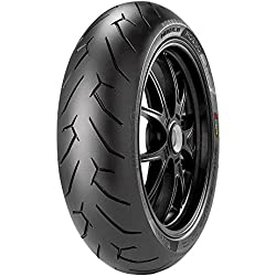 Pirelli Diablo Rosse II Tire - Front - 120/70ZR-17 - D Spec , Position: Front, Rim Size: 17, Tire Application: Sport, Tire Size: 120/70-17, Tire Type: Street, Load Rating: 58, Speed Rating: (W), Tire Construction: Radial 2148800