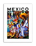 XOCHIMILCO MEXICO WORLD HERITAGE TRAJINERA LAKE FLOWER Travel Canvas art Prints