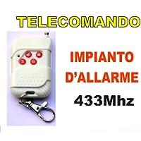 TELECOMANDO WIRELESS 433MHZ PER IMPIANTO
