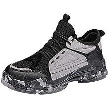 Zapatillas Running para Hombre Aire Libre y Deporte Transpirables Casual Zapatos Camuflaje Gimnasio Correr Sports Sneakers