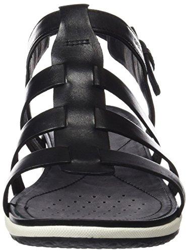 GeoxD Sandal Vega A - Sandali Donna Nero (BLACKC9999)
