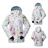 Haodasi Frauen Winter Outdoor Hoodies Skianzug Wasserdichte Snowboard Jacke Camping Wandern Mäntel Coats