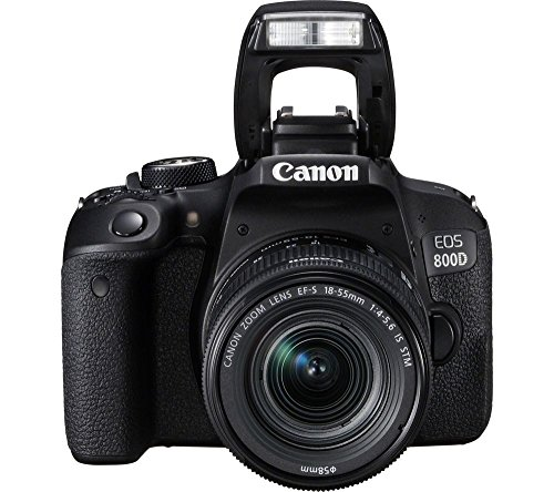 Canon EOS 800D 24.2MP Digital SLR Camera + EF-S 18-55mm...