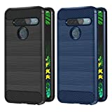 VGUARD 2 Pack Case for LG G8s ThinQ, Silicone Resilient