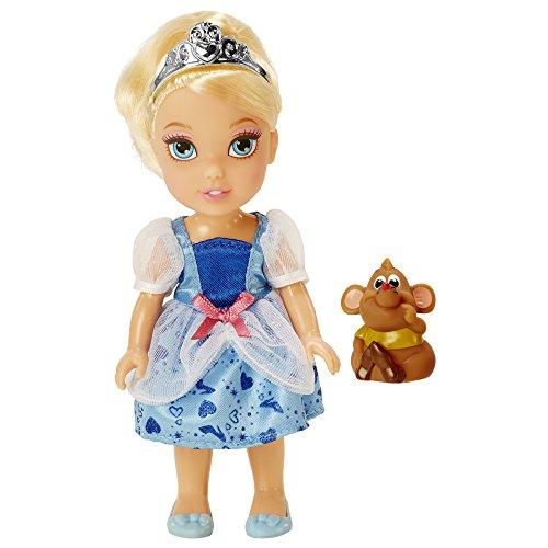 Disney Princess 98960-EU Cinderella Kleine Prinzessin Puppe, 15 cm (Princess Disney Aurora Krone)