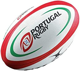 Gilbert Portugal Replica Rugby Ball