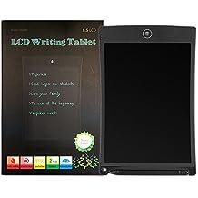 Xido LCD Writing Tablet, 8,5pollici LCD digital lavagna Lettera Pad tavoletta Tablet PC Writer elettronico disegno bambini blocco note scrittura e pittura regalo di natale nero nero 221 x 45 x 146 mm