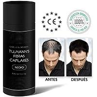 Tillmanns® Fibras Capilares Negro 27,5 gramos - Caida Cabello Hombre - Keratin Fibers