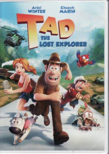 Tad - The Lost Explorer DVD - Ariel Winter / Cheech Marin