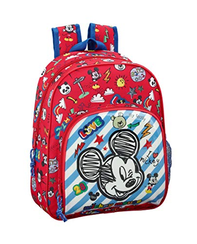 "Mickey Mouse ""Maker"" Oficial Mochila Infantil 280x100x340mm"