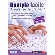Dactylo facile - apprenez le clavier ! (version monoposte)