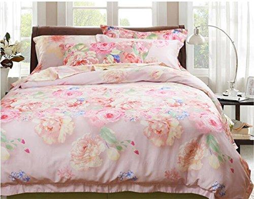 Neue Bettwäsche Bettwäsche Seide vier Sätze von Bettwäsche, Eis Seide glatte nackte Bett Sätze von vier Sätze von Bettwäsche (Ninjago Twin-betten)