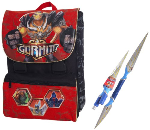 Giochi Preziosi 86401�Backpack extensible medium, Design of Gormiti
