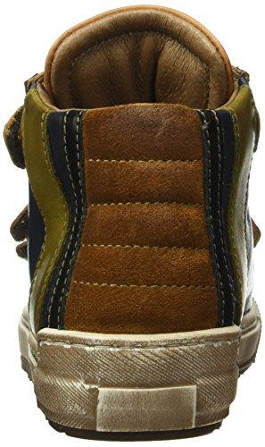 Momino 2591ms, Baskets Basses Mixte Enfant Multicolore - Mehrfarbig (Cuoio)