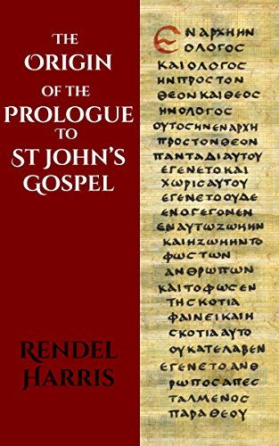 the-origin-of-the-prologue-to-st-johns-gospel-english-edition