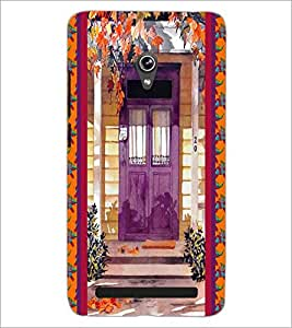 PrintDhaba House D-3748 Back Case Cover for ASUS ZENFONE 6 A601CG (Multi-Coloured)