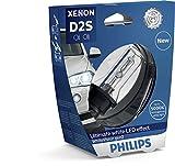 Philips 85122WHV2S1 Xenon-Scheinwerferlampe WhiteVision D2S Gen2, Einzelblister