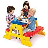 Grow´n Up Summertime Picknick Tisch Spieltisch Kindertisch Gartentisch bis 4 Kinder