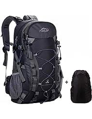 1f88472ac7 Zaino Trekking 40 litri Resistente all'acqua per Trekking Alpinismo  Escursionismo Viaggio Donna e Uomo